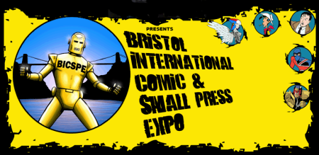 Bristol International Comic & Small Press Expo 2011