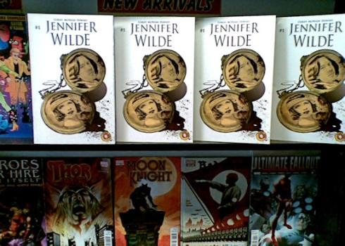 Jennifer Wilde 1 on the shelves of Sub City Comics