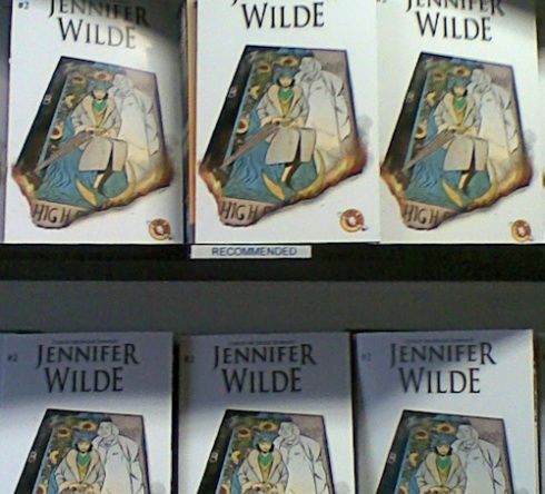 Jennifer Wilde 2 on the shelves of SubCity Comics