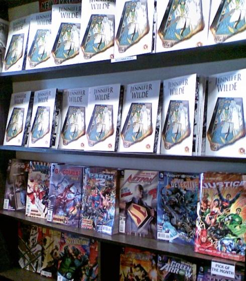 Jennifer Wilde 2 on the shelves of SubCity Comics